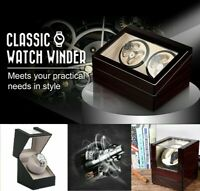 Watch Winder Display Box Automatic Rotation Storage Single Double 10 Watches V01