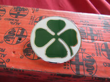 ALFA ROMEO GT / BERTONE Emblema Trébol Blanco/Verde IZQUIERDA 105366250050101
