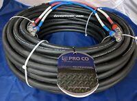 ProCo 125 ft DuraCAT cat6 UTP Dual Channel Digital Snake DCAT2X-125NN US-MADE