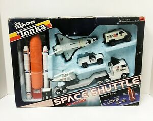 NIB 1989 sealed Vintage Tonka The Tough Ones NASA Space Shuttle Gift Set/2001