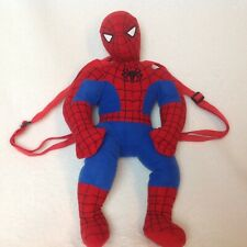"Marvel Comics SPIDERMAN 17"" Plush Backpack Buddy with Zipper Pouch"
