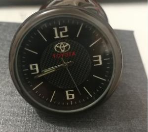 For Toyota Car Clock Refit Interior Luminous Electronic Quartz Watch Ornaments