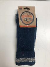 Wigwam Adult Classic Navy Blue Fireside Boot Socks, Size Medium