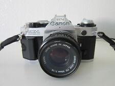 Canon AE-1 Program 35mm SLR Film Camera with 50 mm lens