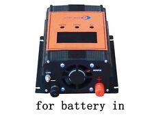 2400w smart solar panel charge controller, DC12V/24V, 100AMP, with LCD