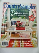 Country Sampler Magazine Back Issue July 2017 Garden Shed 60 Summer Rooms
