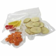 More details for 50 x vogue vacuum pack bags food sealer freezer microwave pouches storage