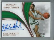 Nate Archibald 18/19 Panini Immaculate Collection Autograph #22/99