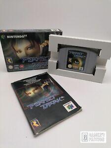 Perfect Dark • Nintendo 64 • Modul sehr gut • OVP mit Anleitung • Schuber • N64