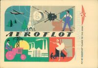 Aeroflot Advertising Fly by planes to the USSR