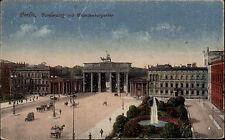 Berlin Pariser Platz Brandenburger Tor 1923 per Eilboten Hotel Esplanade Hambrug