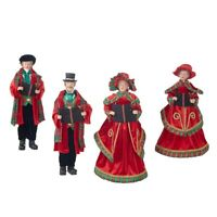 "Raz Imports Home for The Holidays 18"" Carolers, Set of 4"