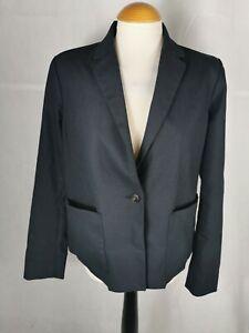 Ladies Jacket Size 10 GAP Navy Blazer Nautical Smart Casual Day
