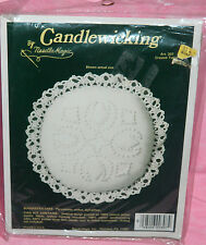 New NeedleMagic Crossed Tulips Candlewicking Kit Pin Cushion Sachet Doll Pillow