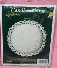 New NeedleMagic Crossed Tulips Candlewicking Kit Pin Cushion Sachet Doll Pillow