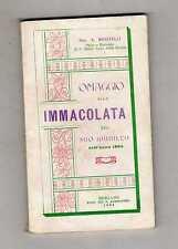 omaggio alla immacolata nel suo giubileo dell anno 1904- sac.a.musitelli -box1qu