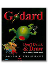 "**Michael Godard-""THE BOOK""-Don't Drink & Draw-Martini-Gambling-Wine-Las Vegas*"