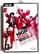 High School Musical 3 Dance PC Nuevo Precintado Videogame New PAL/SPA Sealed