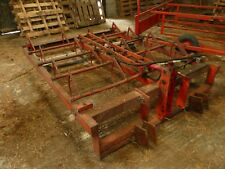 Flat  eight 8 Bale Grab Browns NO VAT