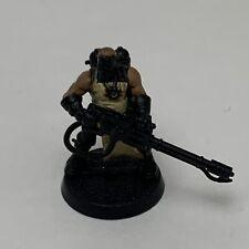 Warhammer 40K Dark Vengeance Chaos Space Marines Cultist - Heavy Flamer Painted