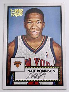 Basketball Cartes2005-06Topps - New York Knicks - Nate Robinson158