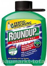 Celaflor Roundup Speed 2,5l Nachfüllpack Unkrautfrei Unkrautvernichter Unkrautex