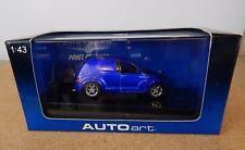 AUTOart Auto art 51531 Chrysler Panel Cruiser Metalic blue 1:43 scale Boxed
