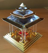 Swarovski ®�Cut Crystal Japanese Gold Plated Shrine/Temple Figurine