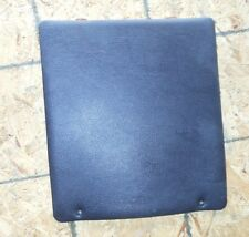 MITSUBISHI 3000GT DODGE STEALTH SEAT BACK PANEL LEATHER CHARCOAL DARK GRAY OEM