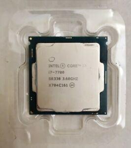 Intel Core i7-7700 3.60GHz Socket LGA1151 Desktop CPU SR338