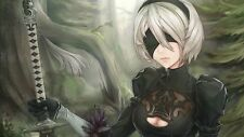 POSTER NIER: AUTOMATA NIER ANDROID YORHA 2B 9S A2 ROBOT GAME GIOCO PS4 FOTO #25