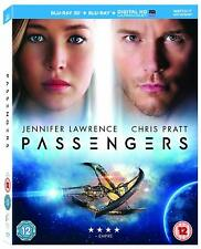 Passengers [3D Edition + Blu-Ray + Digital Copy] - LIKE NEW - FREE UK DELIVERY
