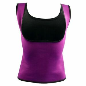 Women Sports Fitness Vest Body Training Sweat Sleeveless Exercise Shapers Tops
