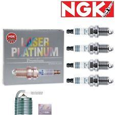 4 -NGK 3271 Spark Plug - Laser Platinum Jeep / Chevrolet / Ram / Dodge