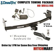 """6K TRAILER HITCH PACKAGE w 2"""" BALL FOR 2004-2012 COLORADO, CANYON  CLASS 3 75607"""