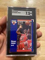 Michael Jordan SGC 7.5 Fleer 1991 #29 Card Collector Man Cave FIGHT INFLATION