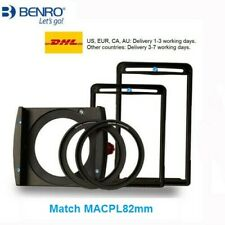 Benro FH100M2 100mm Square Filter Holder For 82mm CPL Camera Filter Holder