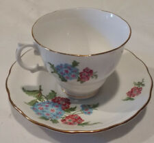 Royal Vale Fine Bone China Cup And Saucer Vintage Made In England