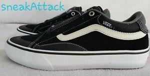 Vans TNT Advanced Prototype Trujillo skate shoes sz 7.5 black grey