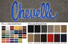 Lloyd Mats 1970-1977 Chevrolet Chevelle Velourtex Custom Front Floor Mats