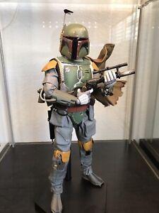 Sideshow Hot Toys Boba Fett ESB 1/6 Scale Star Wars Figure