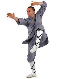 Original Shaolin Anzug von KWON. In grau oder orange  Kung Fu, Wu Shu, Tai Chi