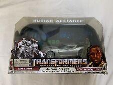 Transformers Revenge Of The Fallen: Human Alliance Sideswipe And Tech Sgt. Epps