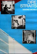 DIRE STRAITS POSTER, MAKING MOVIES  (D1)