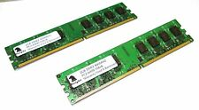 4GB KIT DDR2 800 MHZ PC 6400 2X2GB LONGDIMM DESKTOP MEMORY