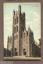 VINTAGE POSTCARD UNUSED ST MARY'S CATHEDRAL KINGSTON ONTARIO CANADA