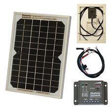 5 W KIT Pannello Solare Caricabatterie Mantenimento/per 12 V batteria auto, furgone, moto, barca