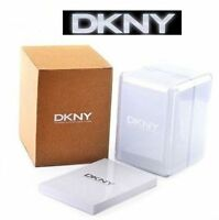DKNY LADIES LUXURY DRESS WATCH GOLD ION PLATED BANGLE NY8128