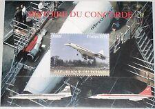 CHAD TSCHAD 2011 Concorde History Flugzeug Aiplane Supersonic Jet Aircraft MNH
