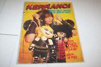 #87 KERRANG music magazine - WASP - TOTO - RAMONES